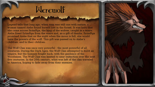 Blood of the Werewolf Artwork 8