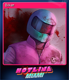 Hotline Miami Card 1