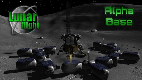 Lunar Flight Artwork 5