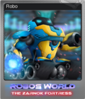 Robo's World The Zarnok Fortress Foil 1