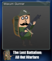 The Lost Battalion All Out Warfare Card 5