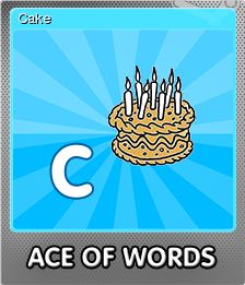 Ace Of Words Foil 3