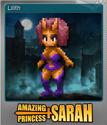 Amazing Princess Sarah Foil 07