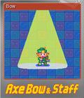 Axe, Bow & Staff Foil 2