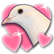 Hatoful Boyfriend Badge 2