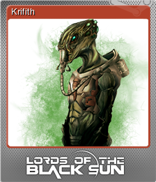 Lords of the Black Sun Foil 7