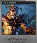Middle-earth Shadow of Mordor Foil 1