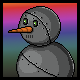 Super Mega Neo Pug Badge 3