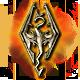 The Elder Scrolls V Skyrim Badge Foil
