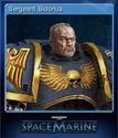 Warhammer 40,000 Space Marine Card 3
