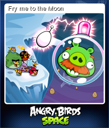 Angry Birds Space Card 3