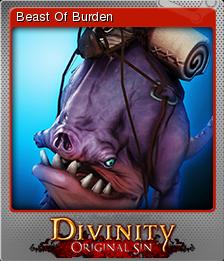 Divinity Original Sin Card 03 Foil
