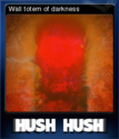 Hush Hush - Unlimited Survival Horror Card 09