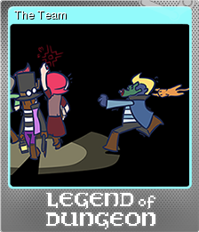 Legend of Dungeon Foil 8