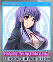 Mahjong Pretty Girls Battle School Girls Edition Foil 9