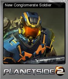 PlanetSide 2 Foil 1