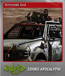 Ravaged Zombie Apocalypse Foil 6