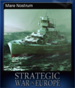 Strategic War in Europe Card 9