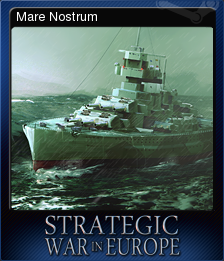 Strategic War in Europe Card 9