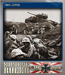 Supreme Ruler 1936 Foil 4
