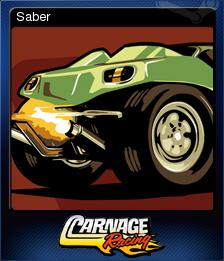 Carnage Racing Card 4