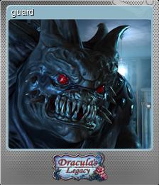 Dracula's Legacy - guard | Steam Trading Cards Wiki | FANDOM