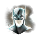 Batman Arkham Origins Blackgate Badge Foil