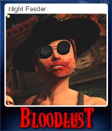BloodLust Shadowhunter Card 4