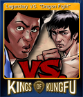 Kings of Kung Fu Card 3