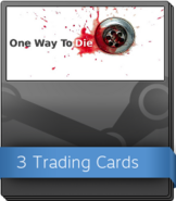 One Way To Die Steam Edition Booster Pack