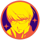 Persona 4 Golden Badge Foil