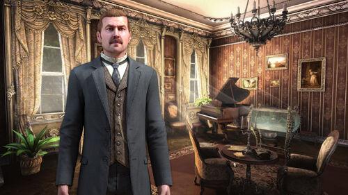 The Testament of Sherlock Holmes Artwork 2