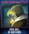 Gods Will Be Watching Card 2