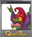 Quest Run Card 10 Foil