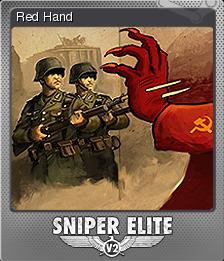 Sniper Elite V2 Foil 7