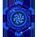 The Treasures of Montezuma 4 Emoticon blue gem