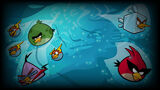 Angry Birds Space Background Deep Blue
