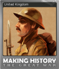 Making History The Great War Foil 3