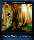 But to Paint a Universe Card 12