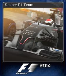 F1 2014 Card 09