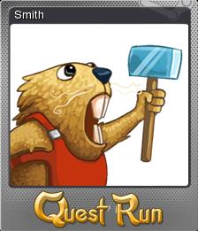 Quest Run Card 11 Foil