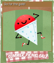 Summer Picnic Sale Card 07