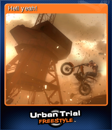 Urban Trial Freestyle Card 1