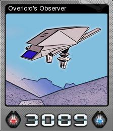 3089 Futuristic Action RPG Foil 6