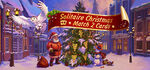 Solitaire Christmas. Match 2 Cards Logo