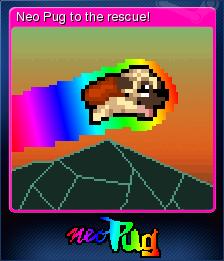 Super Mega Neo Pug Card 5
