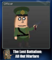 The Lost Battalion All Out Warfare Card 4