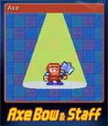 Axe, Bow & Staff Card 1