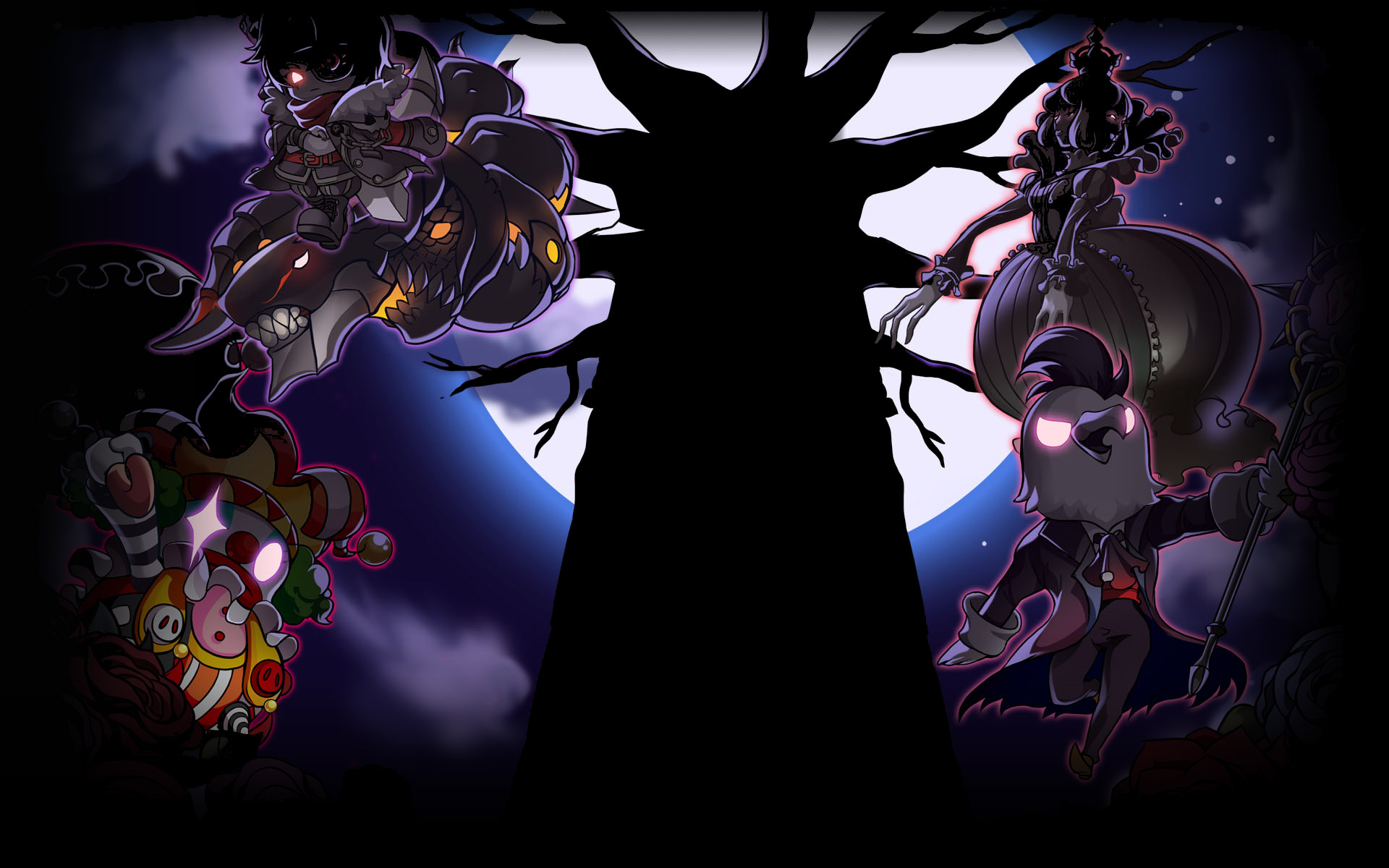 image maplestory background root abyss villainsjpg steam trading cards wiki fandom