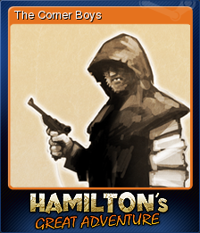 Hamilton's Great Adventure Card 1